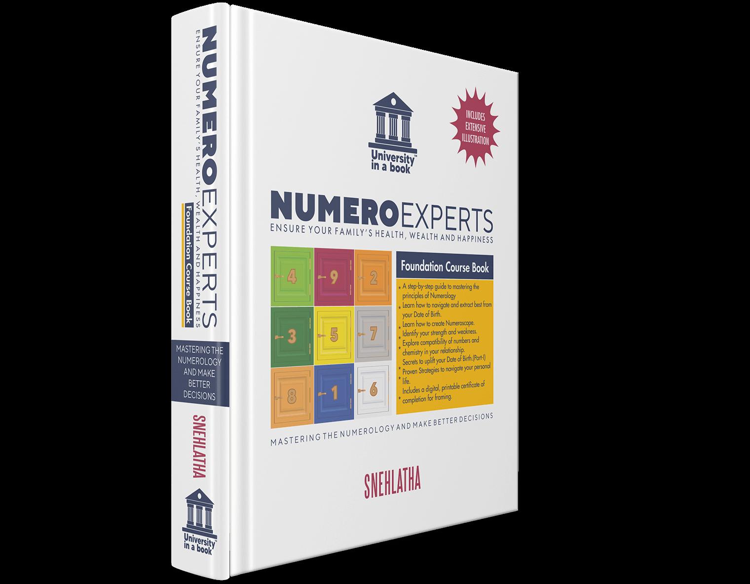 Numeroexperts Foundation Course-Book