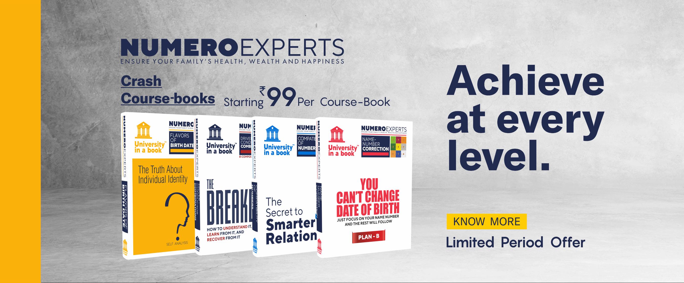 Numeroexperts Foundation Course Book